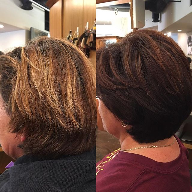 Aloxxi 15 minute hair coloring in Scottsdale