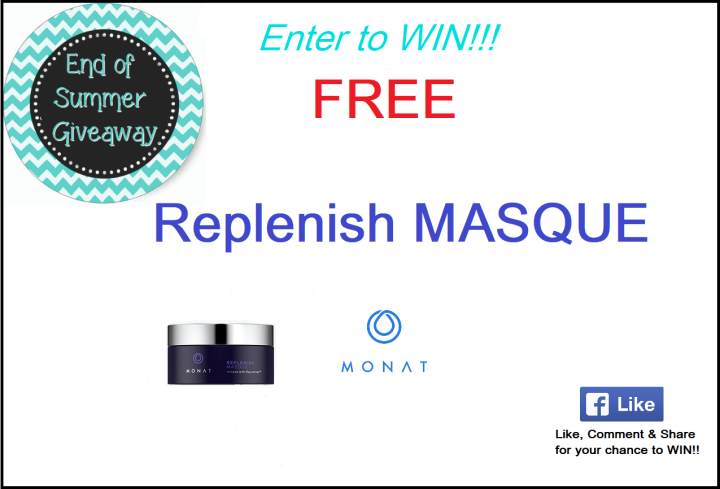 End of Summer GIVEAWAY!! Enter to WinToday!!